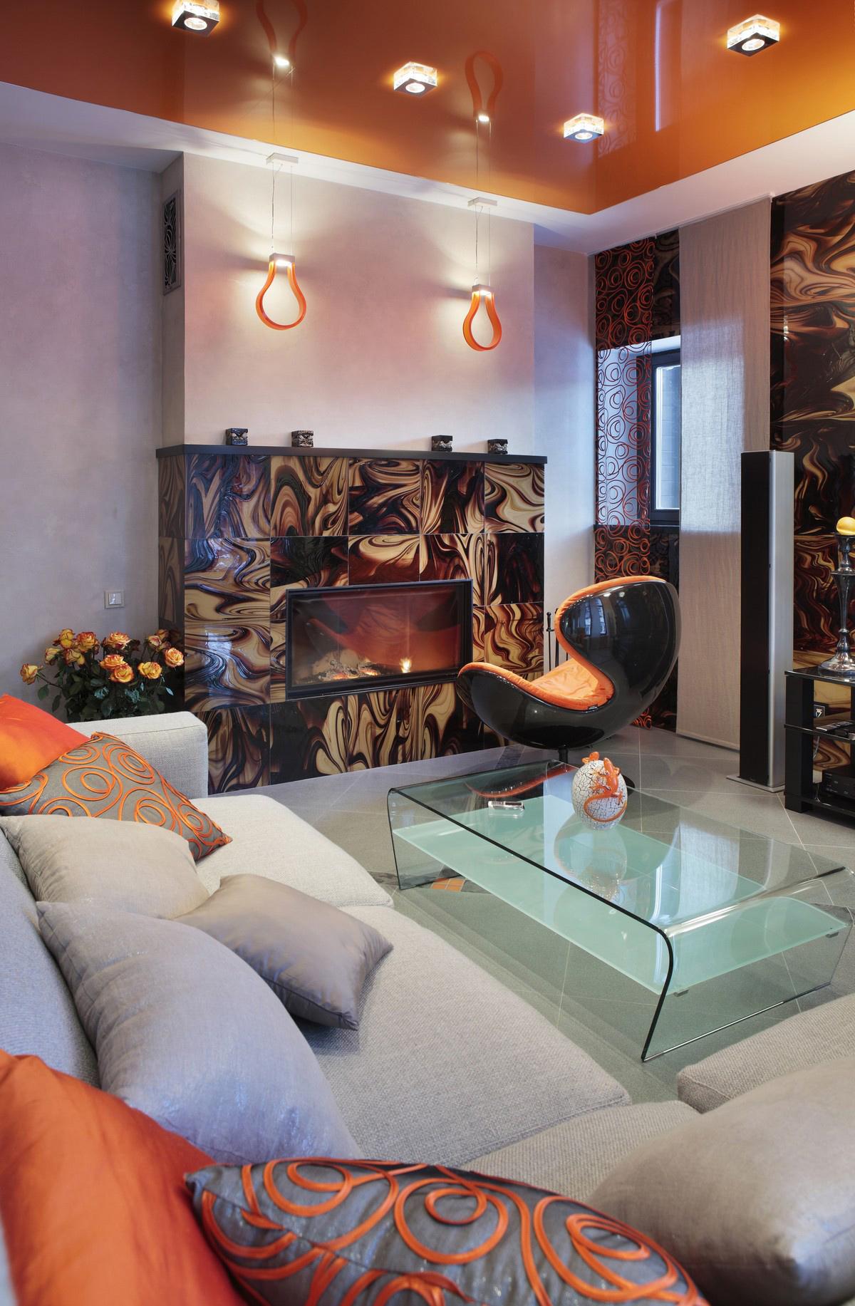 Квартира. гостиная из проекта , фото №71811