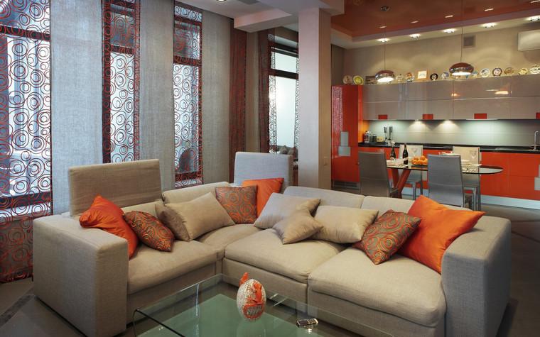 Квартира. гостиная из проекта , фото №71813