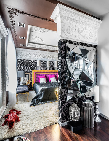 Квартира. спальня из проекта , фото №72051