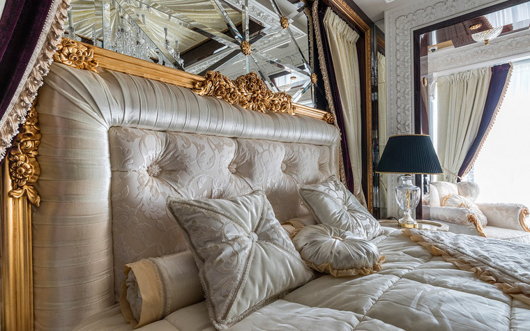 Квартира. спальня из проекта , фото №72241
