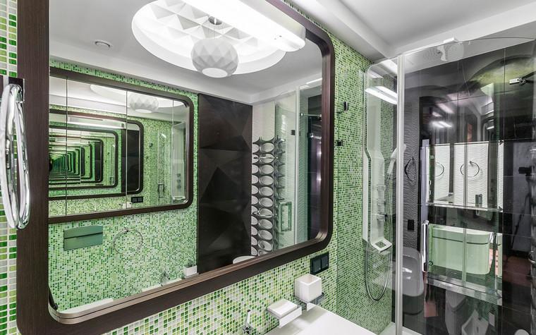 Квартира. ванная из проекта , фото №72257