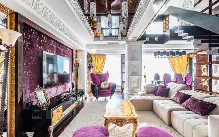 Квартира. гостиная из проекта , фото №72228