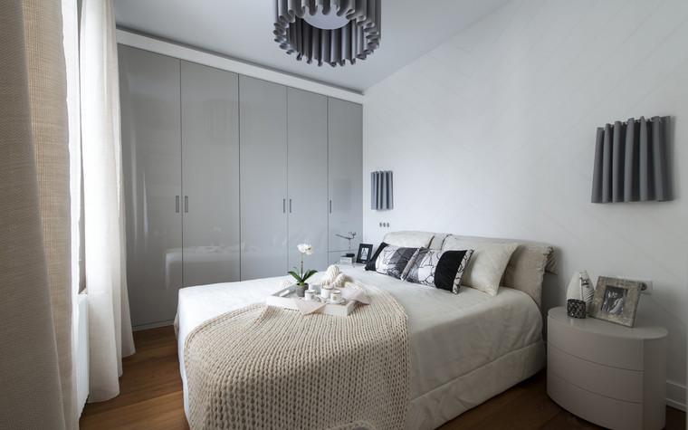 Квартира. спальня из проекта , фото №72390