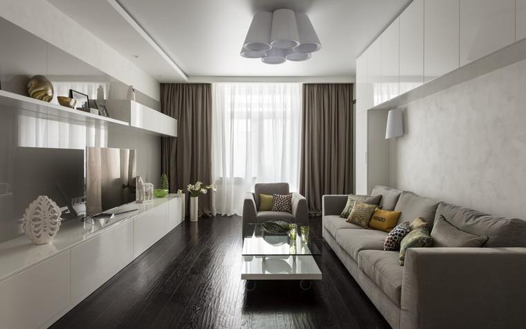 Квартира. гостиная из проекта , фото №72387