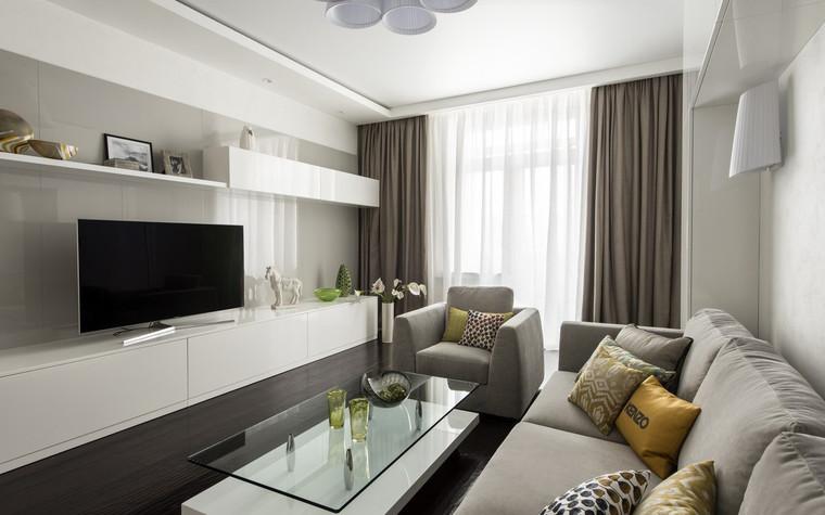 Квартира. гостиная из проекта , фото №72388