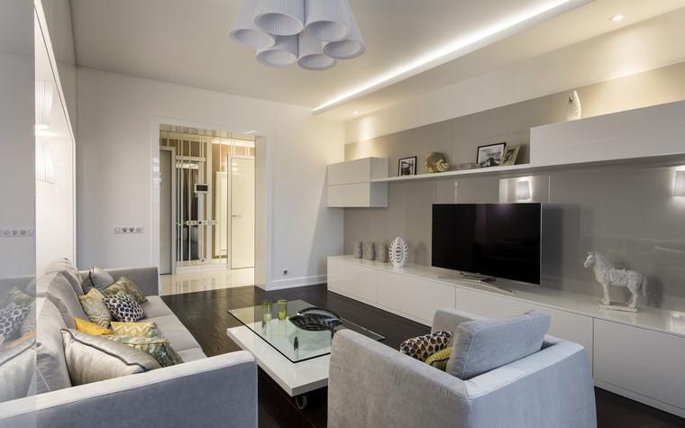 Квартира. гостиная из проекта , фото №72389