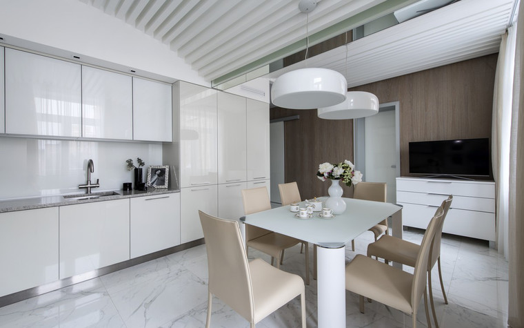 Квартира. кухня из проекта , фото №72393