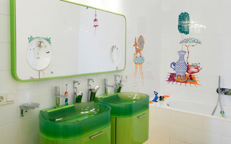 Квартира. ванная из проекта , фото №72405