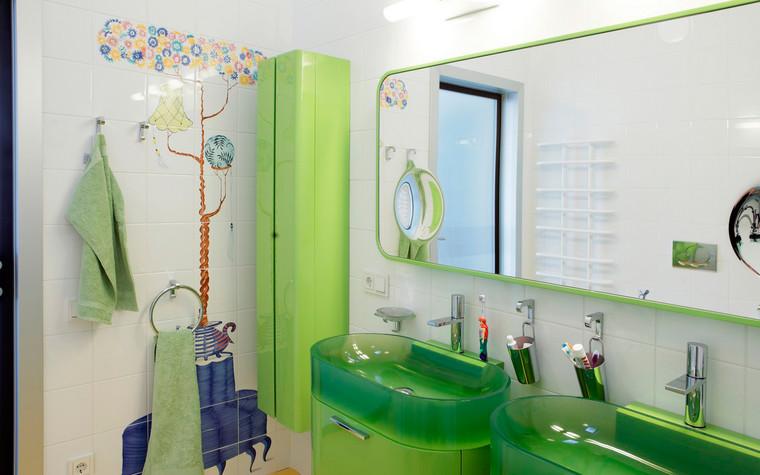 Квартира. ванная из проекта , фото №72404
