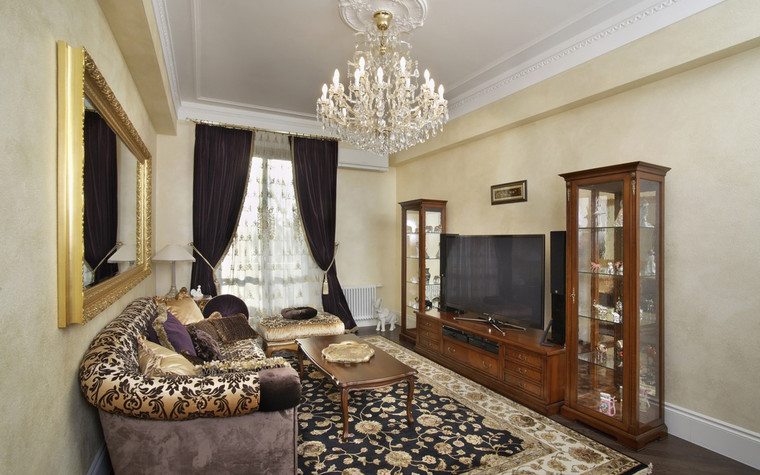 Квартира. гостиная из проекта , фото №72414
