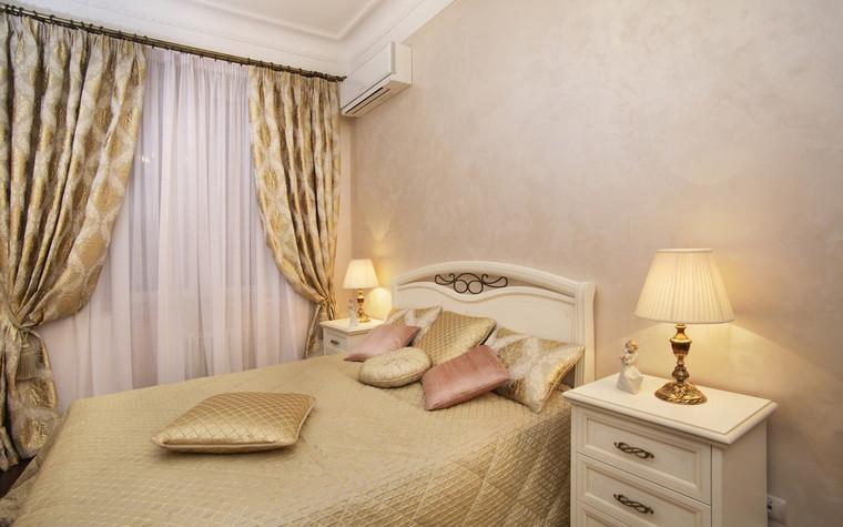 Квартира. спальня из проекта , фото №72421