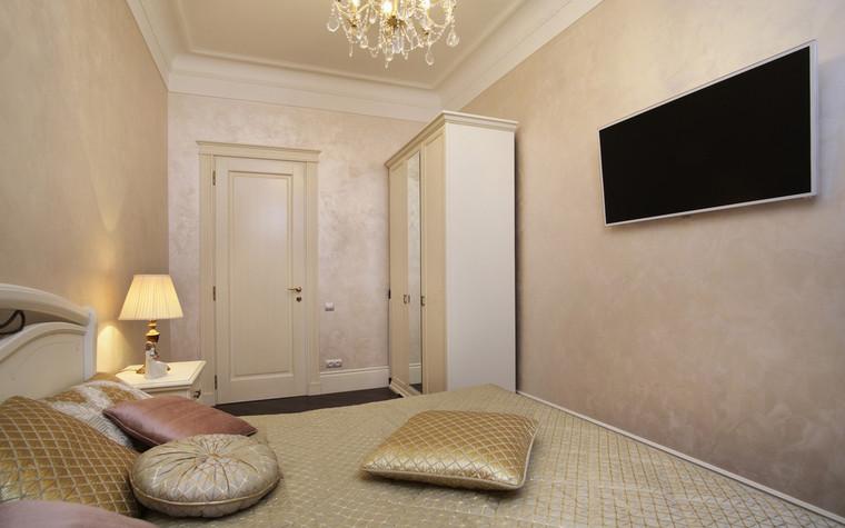 Квартира. спальня из проекта , фото №72422