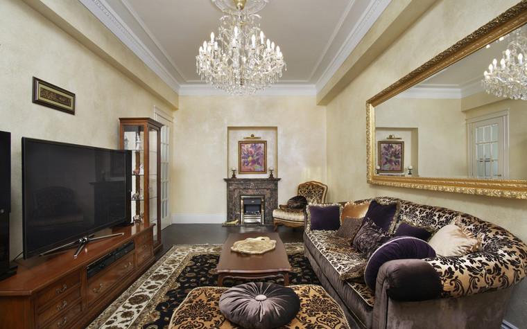 Квартира. гостиная из проекта , фото №72415