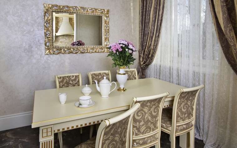 Квартира. столовая из проекта , фото №72424