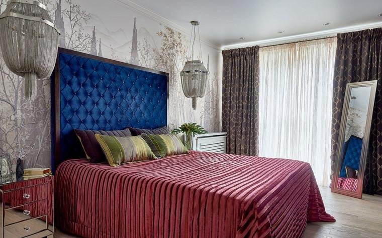 Квартира. спальня из проекта , фото №72515