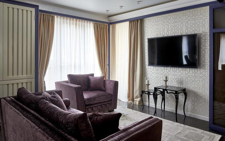 Квартира. гостиная из проекта , фото №72509