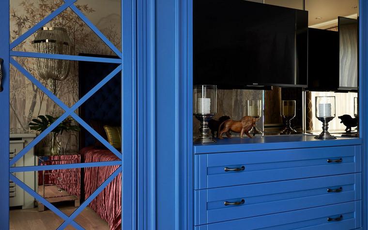 Квартира. спальня из проекта , фото №72514