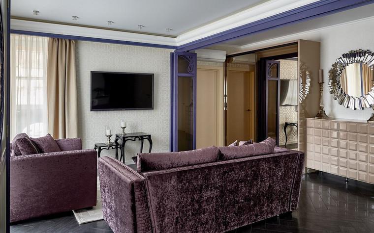 Квартира. гостиная из проекта , фото №72504