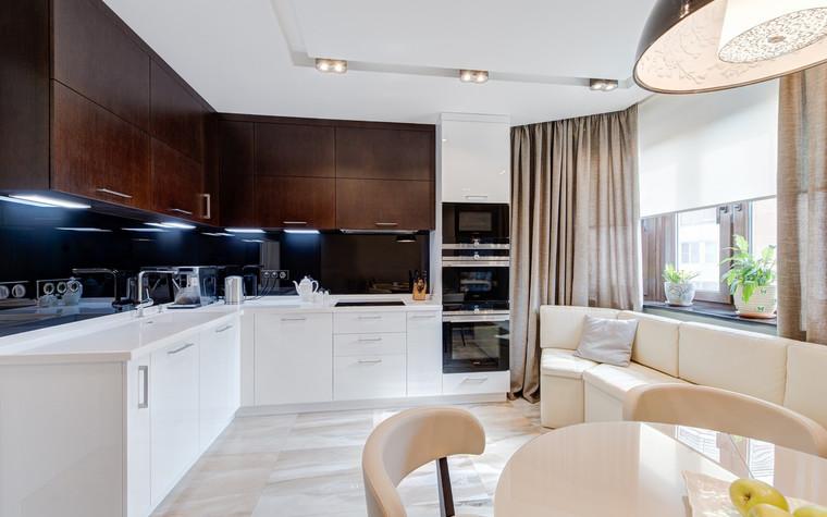 Квартира. кухня из проекта , фото №72613