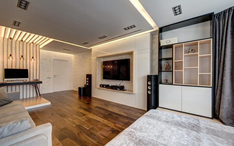 Квартира. гостиная из проекта , фото №72610