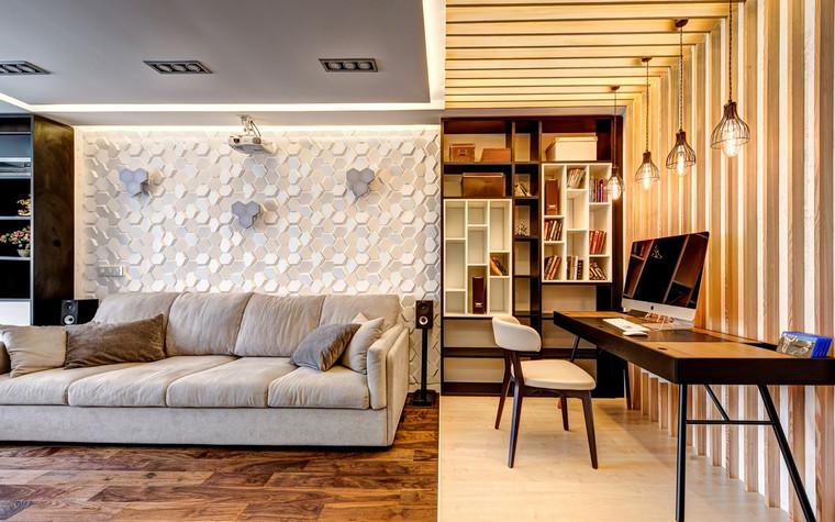 Квартира. гостиная из проекта , фото №72607