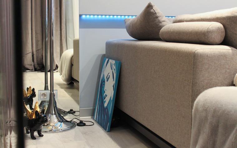 Квартира. гостиная из проекта , фото №72630