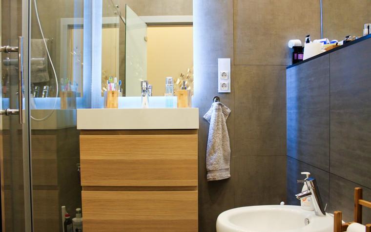 Квартира. ванная из проекта , фото №72649