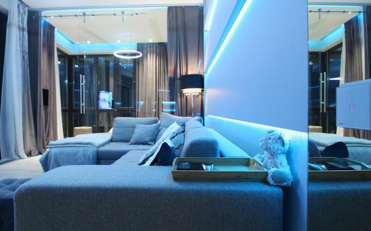 Квартира. гостиная из проекта , фото №72635