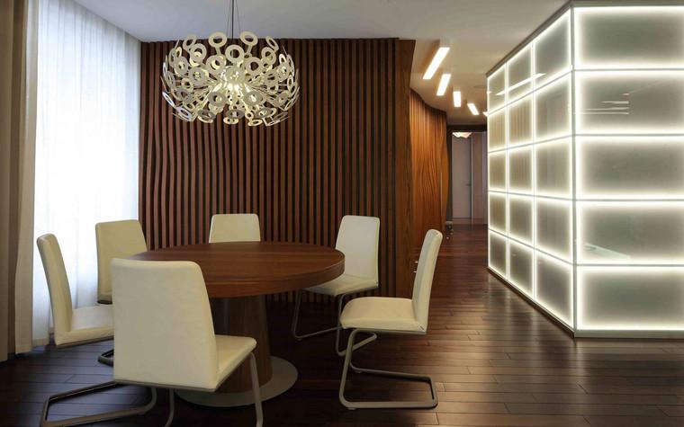 Квартира. столовая из проекта , фото №72837