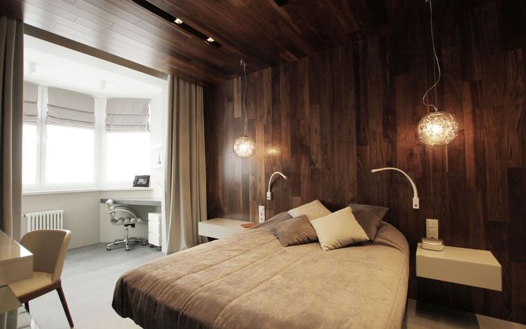 Квартира. спальня из проекта , фото №71286