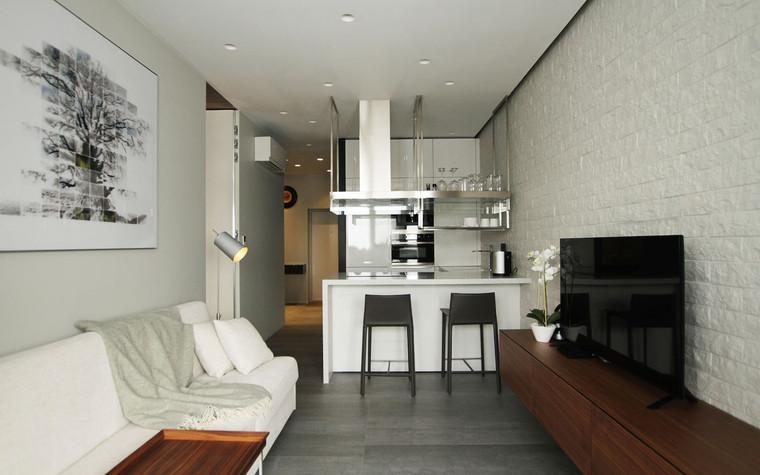 Квартира. гостиная из проекта , фото №71279