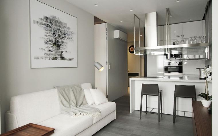 Квартира. гостиная из проекта , фото №71280