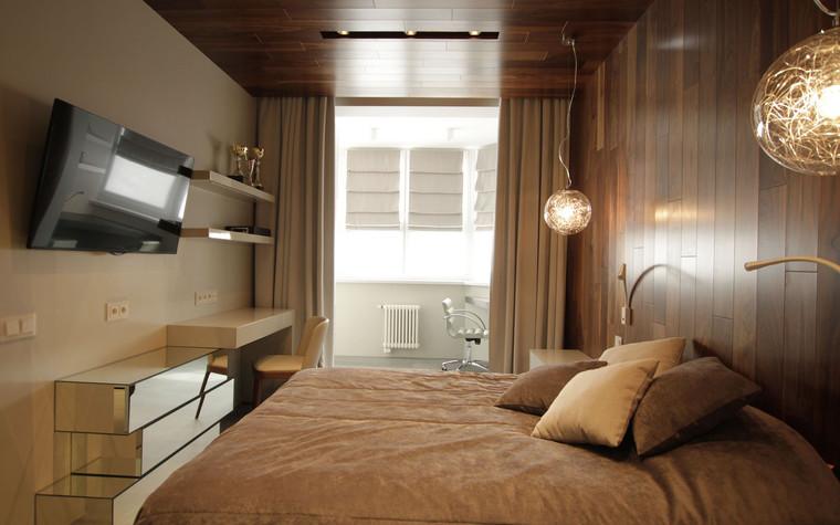 Квартира. спальня из проекта , фото №71287