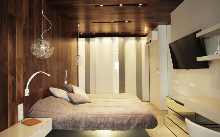 Квартира. спальня из проекта , фото №71283
