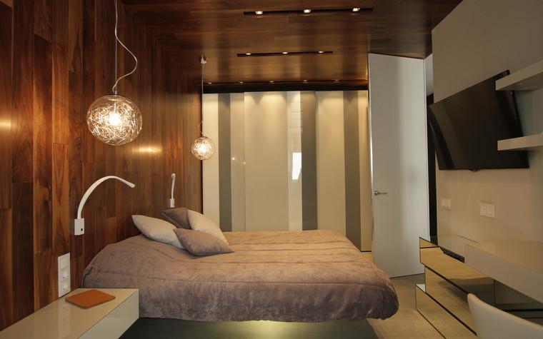 Квартира. спальня из проекта , фото №71284