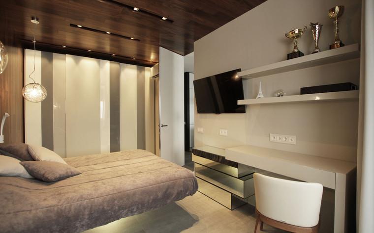 Квартира. спальня из проекта , фото №71285