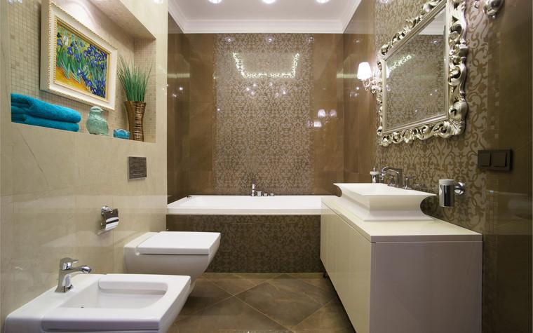 Квартира. ванная из проекта ЖК Режиссер, фото №73142