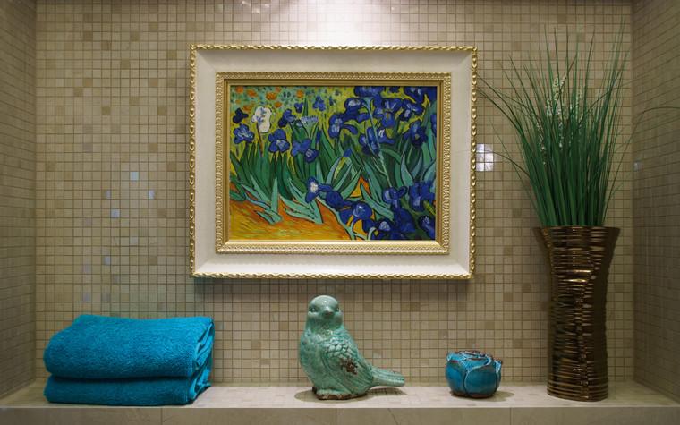 Квартира. ванная из проекта ЖК Режиссер, фото №73143
