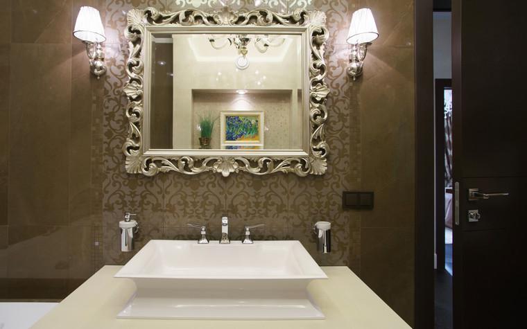Квартира. ванная из проекта ЖК Режиссер, фото №73144