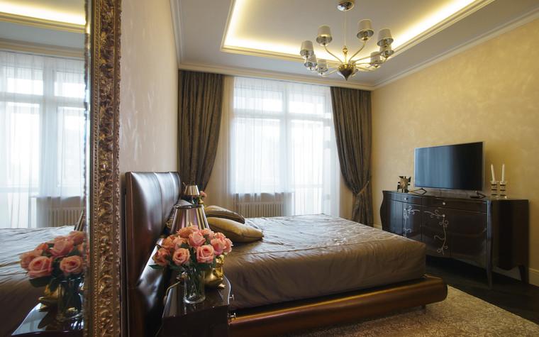 Квартира. спальня из проекта ЖК Режиссер, фото №73127