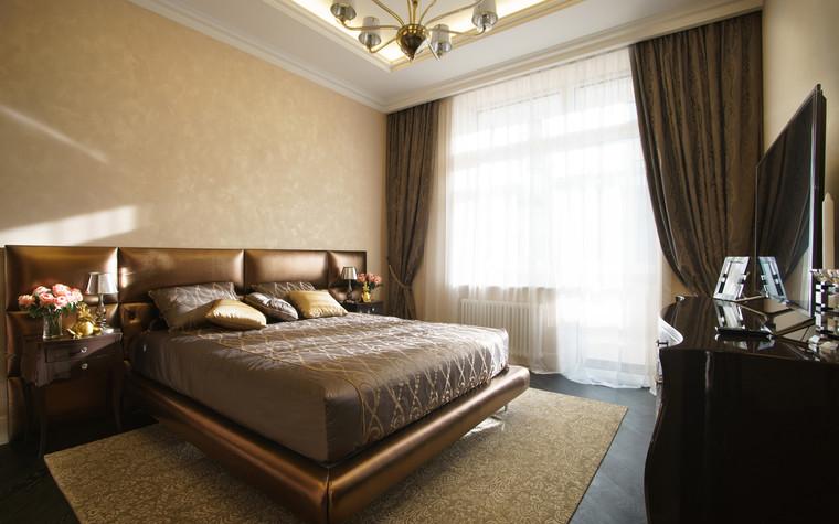 Квартира. спальня из проекта ЖК Режиссер, фото №73130
