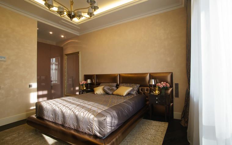Квартира. спальня из проекта ЖК Режиссер, фото №73129