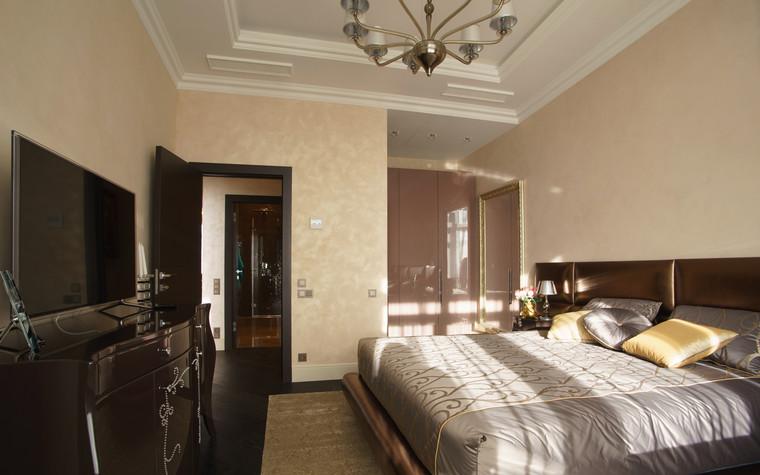 Квартира. спальня из проекта ЖК Режиссер, фото №73131