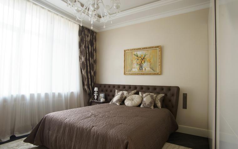Квартира. спальня из проекта ЖК Режиссер, фото №73132
