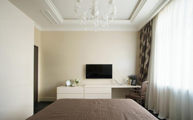 Квартира. спальня из проекта ЖК Режиссер, фото №73135