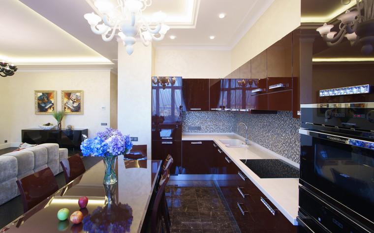 Квартира. кухня из проекта ЖК Режиссер, фото №73140