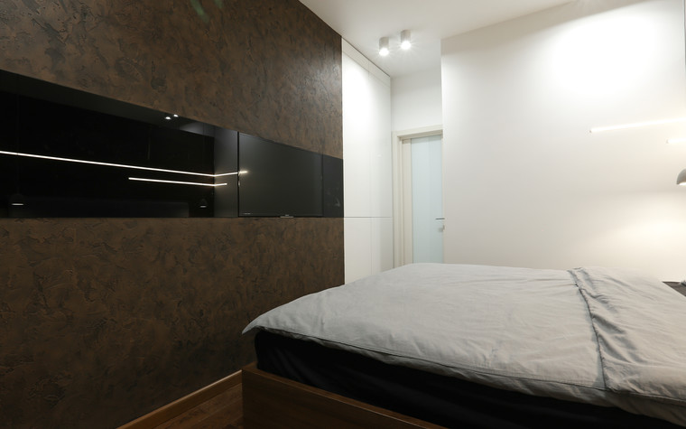 Квартира. спальня из проекта , фото №73614