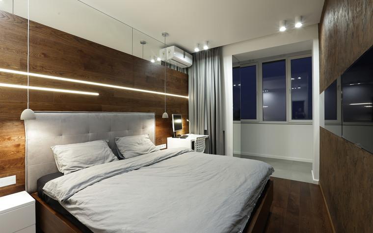 Квартира. спальня из проекта , фото №73615