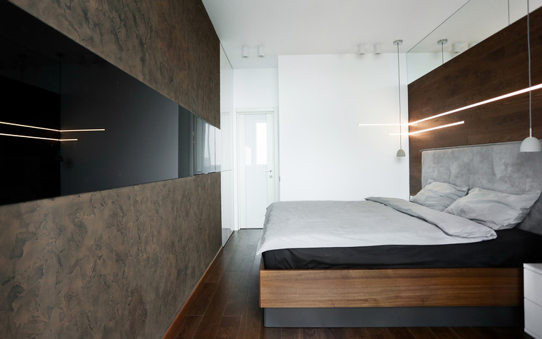 Квартира. спальня из проекта , фото №76331