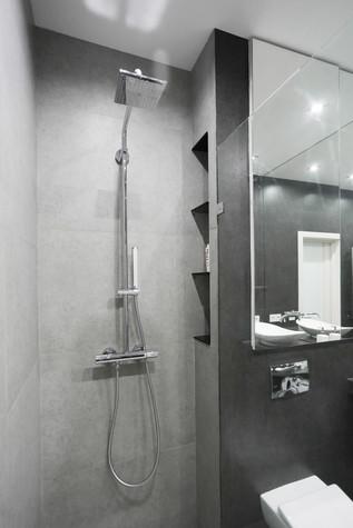 Отделка ванных комнат пластиковыми панелями